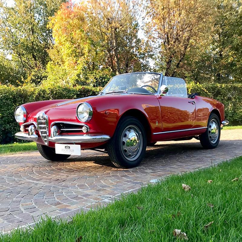 Alfa Romeo Giulietta Spider in vendita - Passione Classica