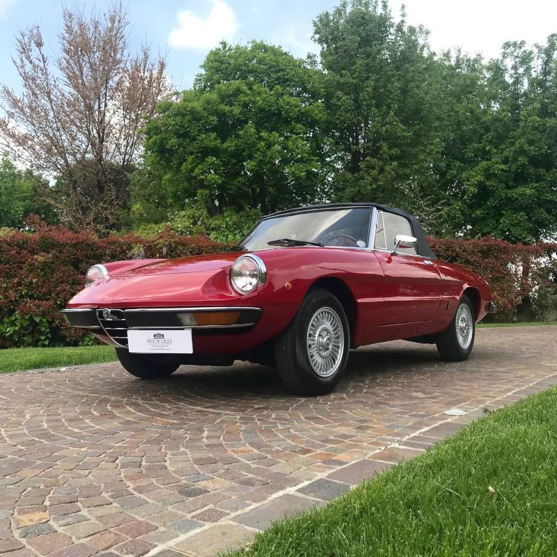 Anteriore Alfa Spider seconda serie in vendita - Passione Classica