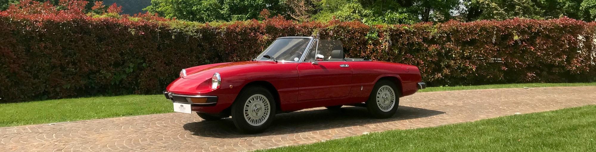Alfa Romeo Spider 2000 Veloce in vendita - Passione Classica