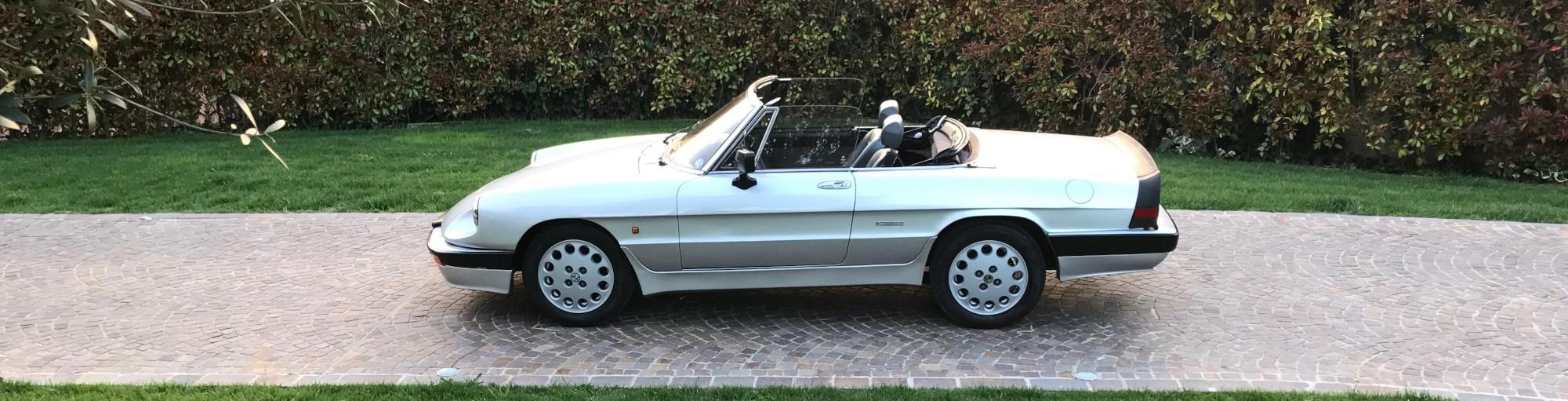 Alfa Romeo Spider Quadrifoglio Verde in vendita - Passione Classica
