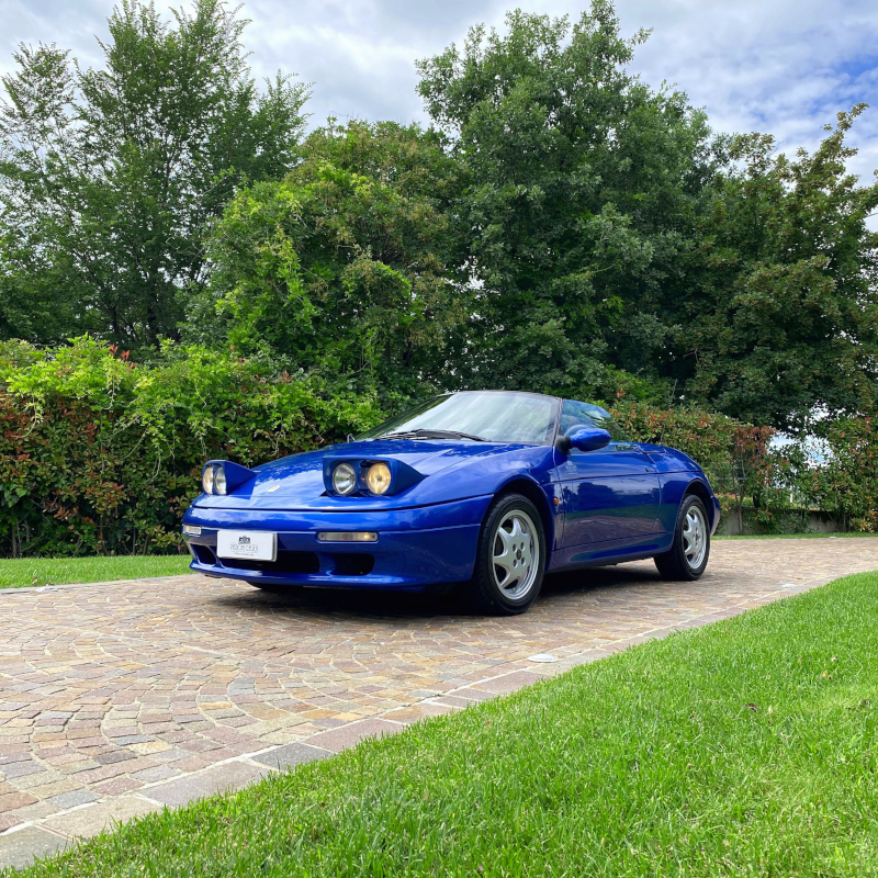 Lotus Elan Turbo-S1 M100 - PASSIONE CLASSICA - Fari aperti