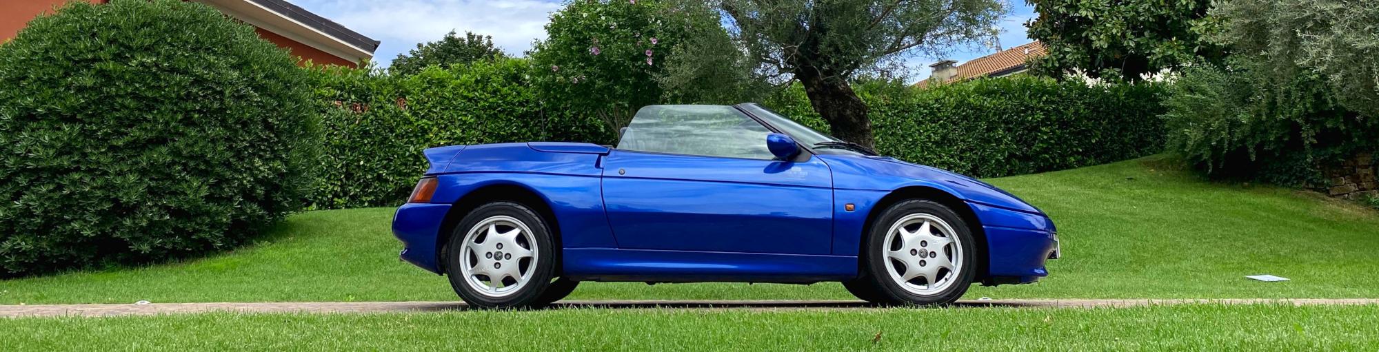Laterale Lotus Elan Turbo-S1 M100 - PASSIONE CLASSICA