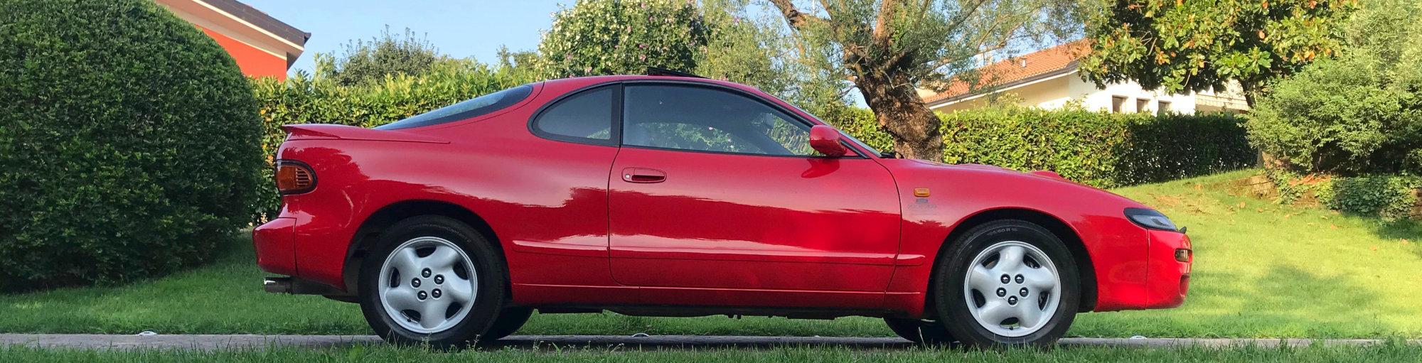 Laterale della Toyota Celica Turbo 4WD Carlos Sainz in vendita - PASSIONE CLASSICA