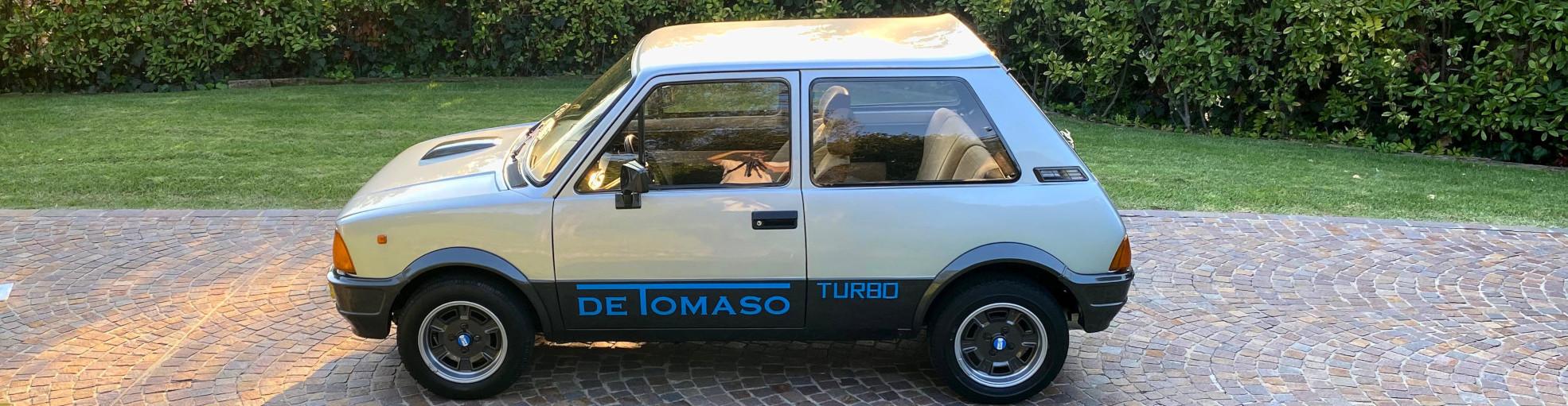 Fiancata della Innocenti De Tomaso Turbo in vendita - PASSIONE CLASSICA