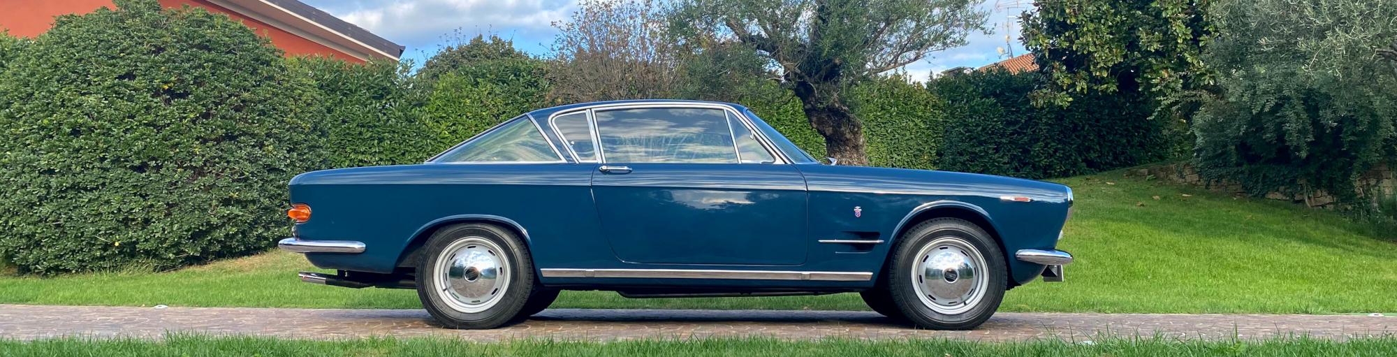 Profilo destro della Fiat 2300 S coupè in vendita da Passione Classica