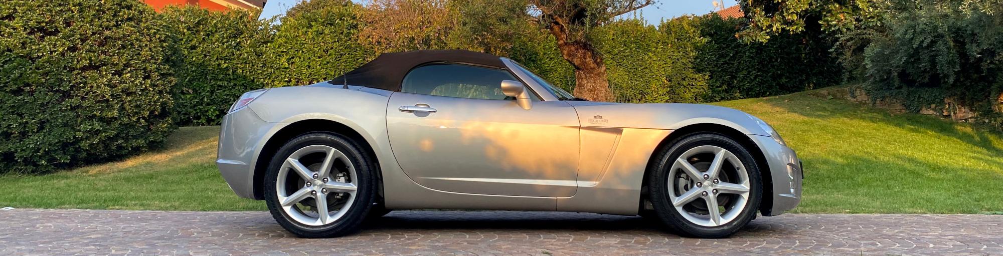 Profilo destro Opel GT Roadster - Passione Classica