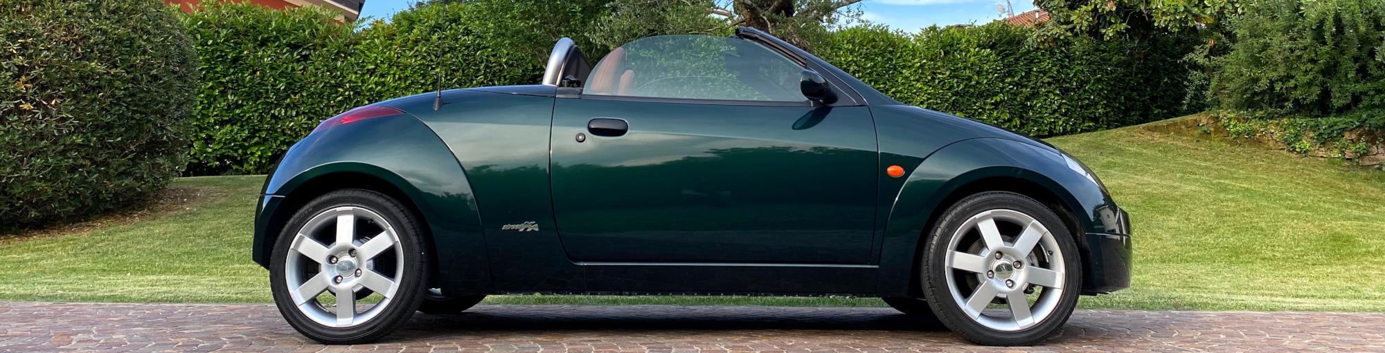Vista laterale Ford Ka cabrio- Ford Streetka - Passione Classica